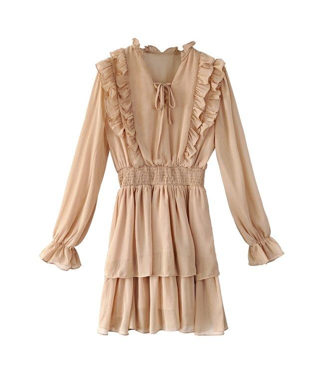 Zhara Pleated Dress