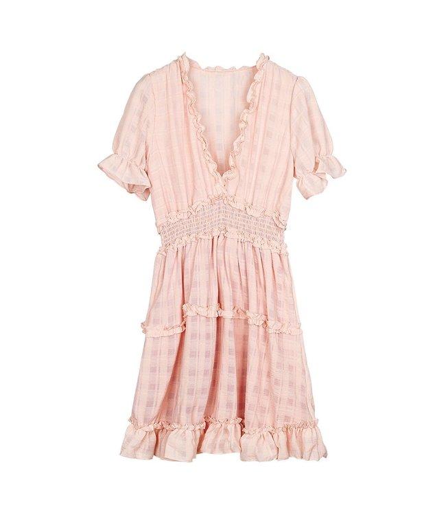 Lune Ruches Dress
