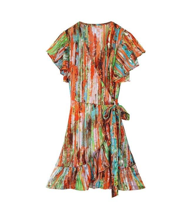 Colorful Dress / Orange