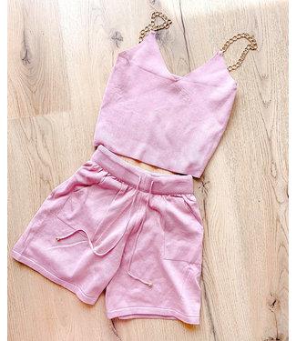 Esmee Knit Set / Pink