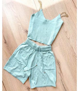 Esmee Knit Set / Green