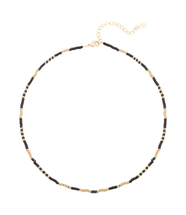 Mystic Beads Necklace / Black