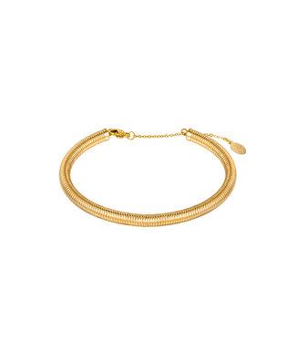 Coil Bangle Bracelet