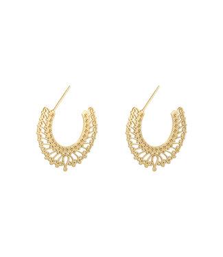 Emma Hoop Earrings