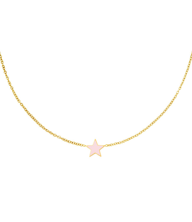 Pastel Star Necklace