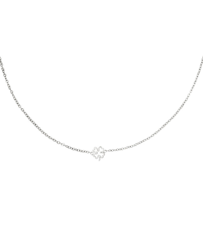 Open Clover Necklace