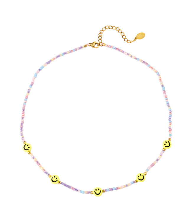 Smiley Beads Necklace