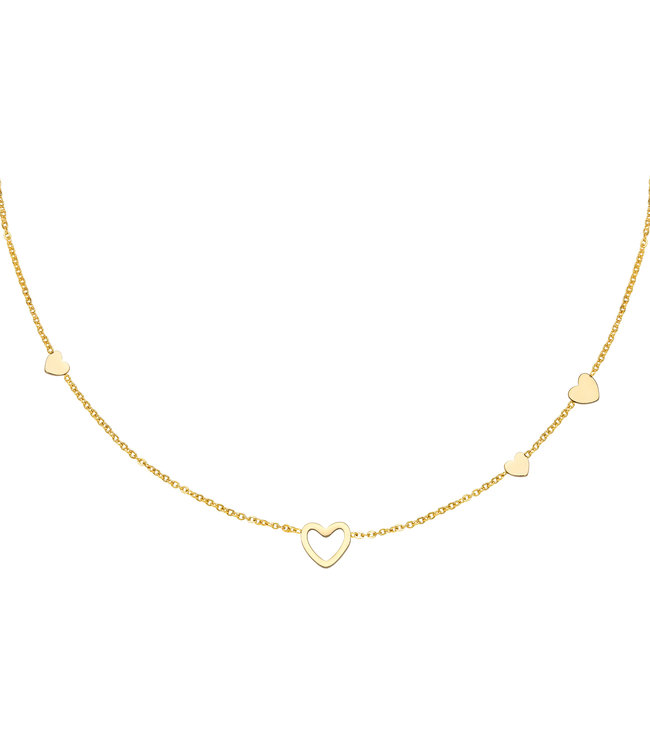 Lovers Heart Necklace