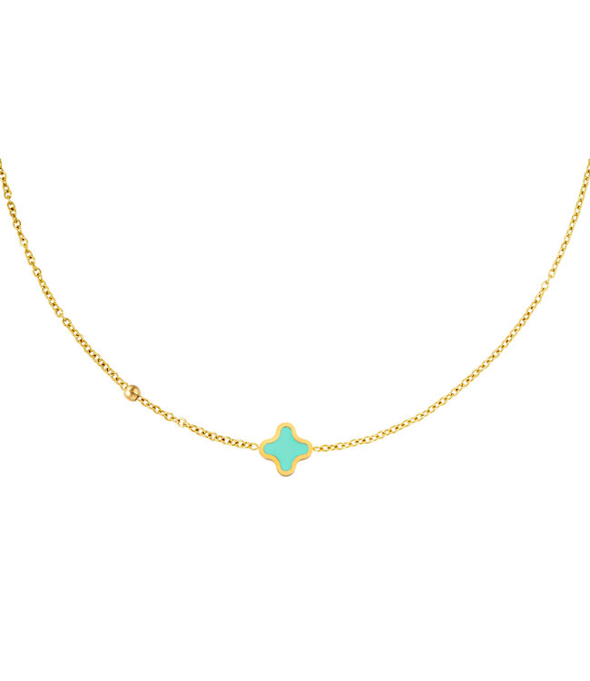One Clover Necklace