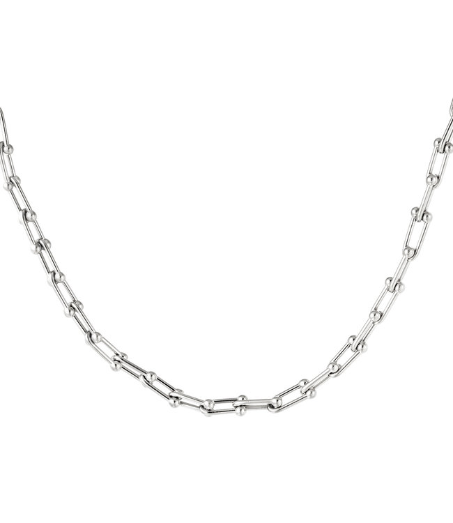 Linked Chains Necklace