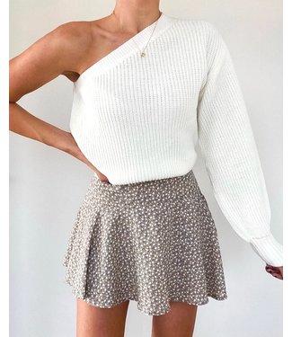 Tamara Sweater / White