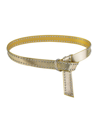 Metallic Studs Belt / Gold