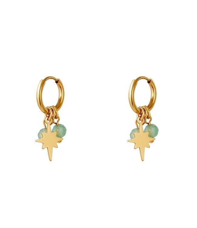 North Star Beads Earrings