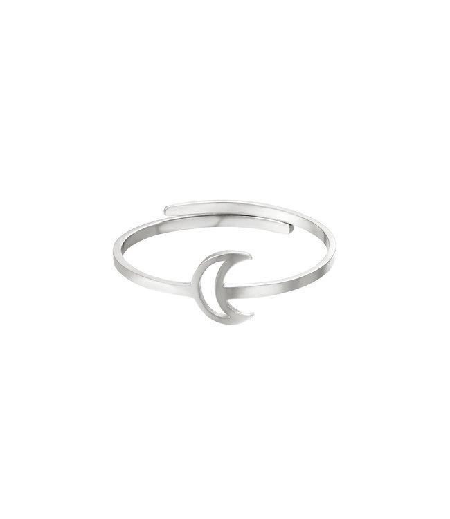 Open Moon Ring