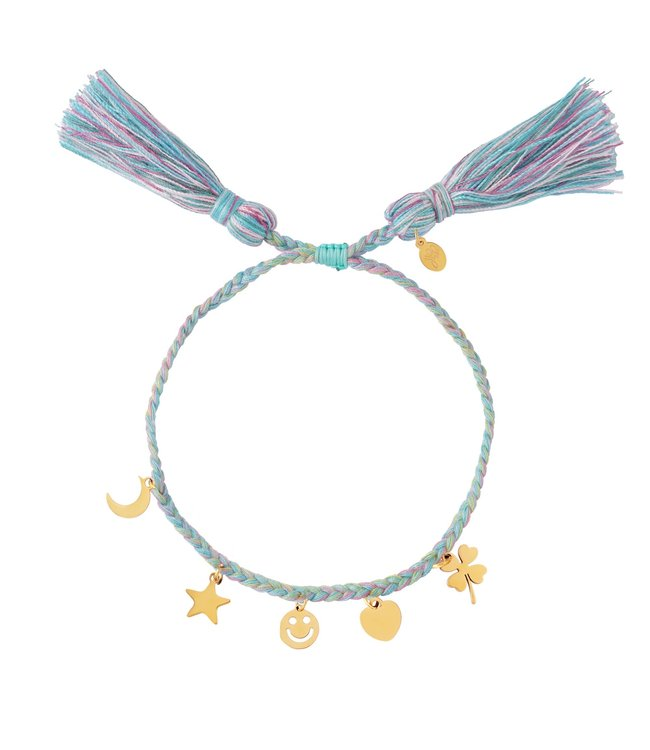 Colorful Charms Bracelet