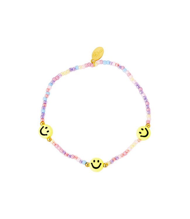 Smiley Beads Bracelet