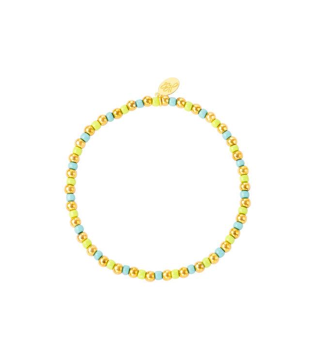 Colorful Simple Beads Bracelet