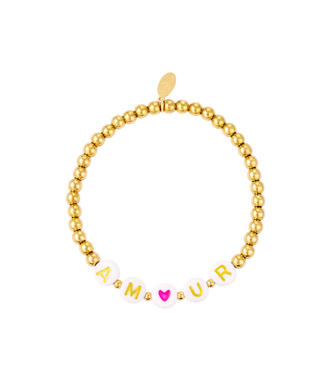 Amour Beads Bracelet