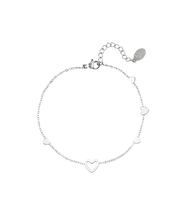 Lovers Heart Bracelet