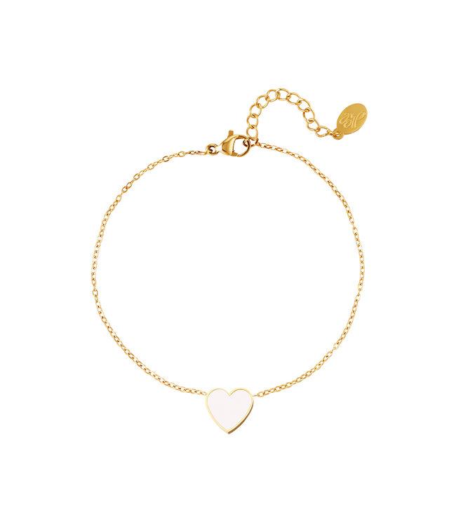 Pastel Heart Bracelet