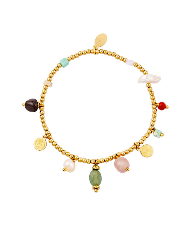 Mixed Charms Bracelet