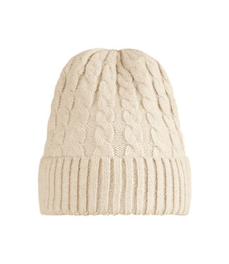 Knitted Hat / Off White