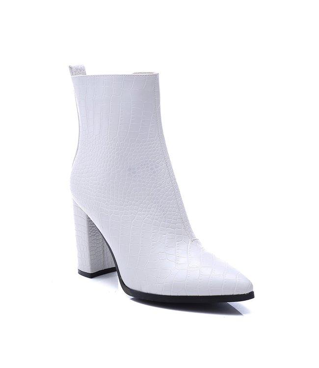 Chloe Croco Heels