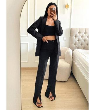 Loose Fit Blazer / Black
