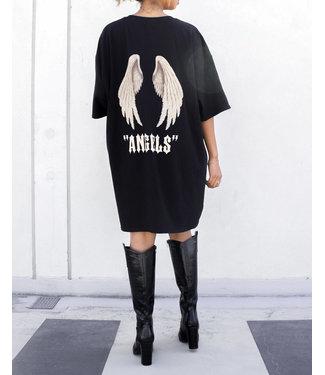 Angels T-shirt Dress