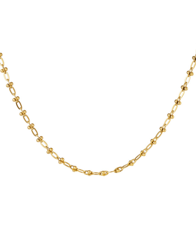 Small Linked Chains Necklace
