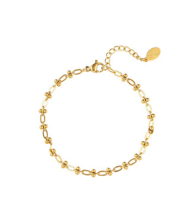 Small Linked Chains Bracelet