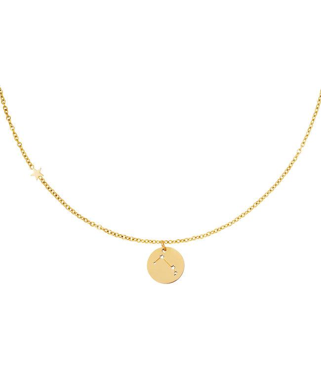 Gold Zodiac Sign Necklace