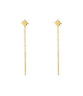 North Star Dangle Earrings