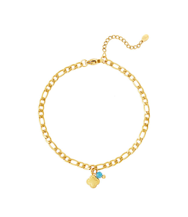Clover Figaro Bracelet