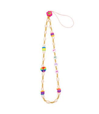 Luck Beads Phone Cord