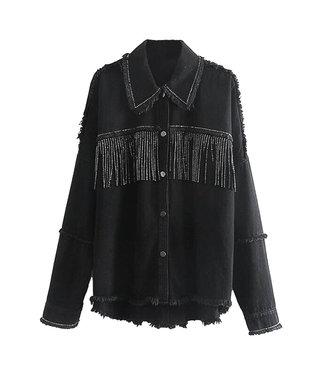 Fringe Studs Jacket