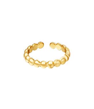Circles Row Ring