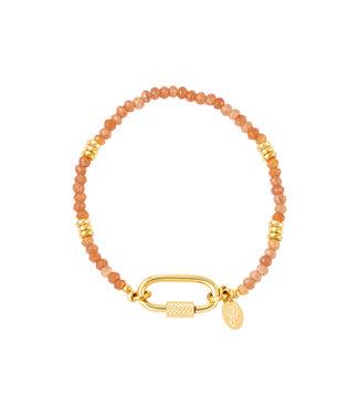 Rectangle Beaded Bracelet