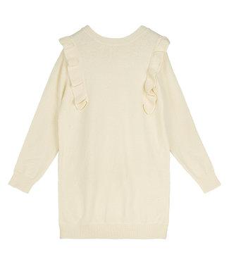 Ruches Dress / Off White