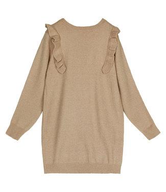 Ruches Dress / Brown