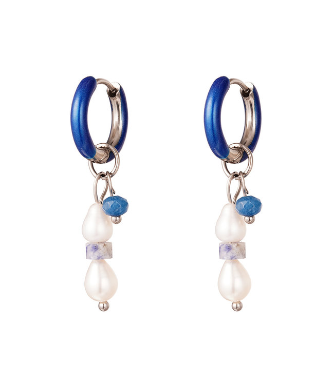 Colored Charms Earrings