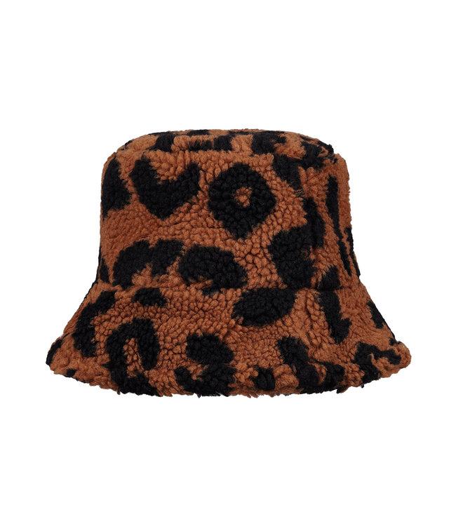 Teddy Leopard Bucket Hat