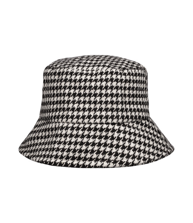 Pied de Poule Bucket Hat