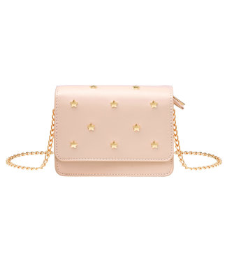 Star Studs Bag / Peach