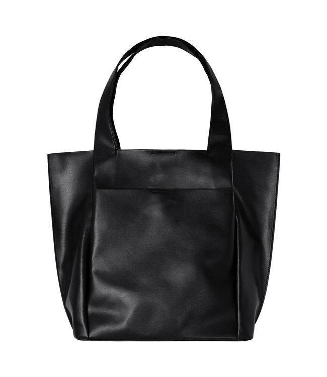 Leather Look Bag / Black