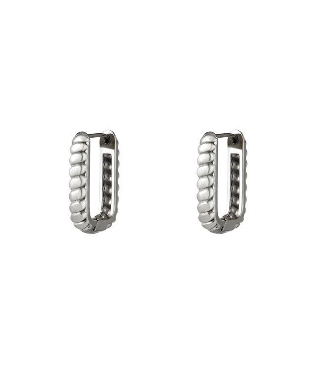 Baguette Rectangle Earrings