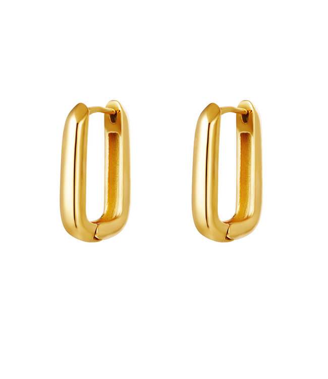 Iconic Square Earrings