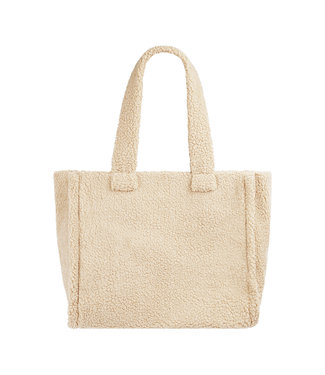 Teddy Shopper Bag / Off White