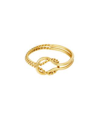 Braided Circle Ring
