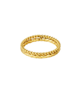 Double Braided Ring